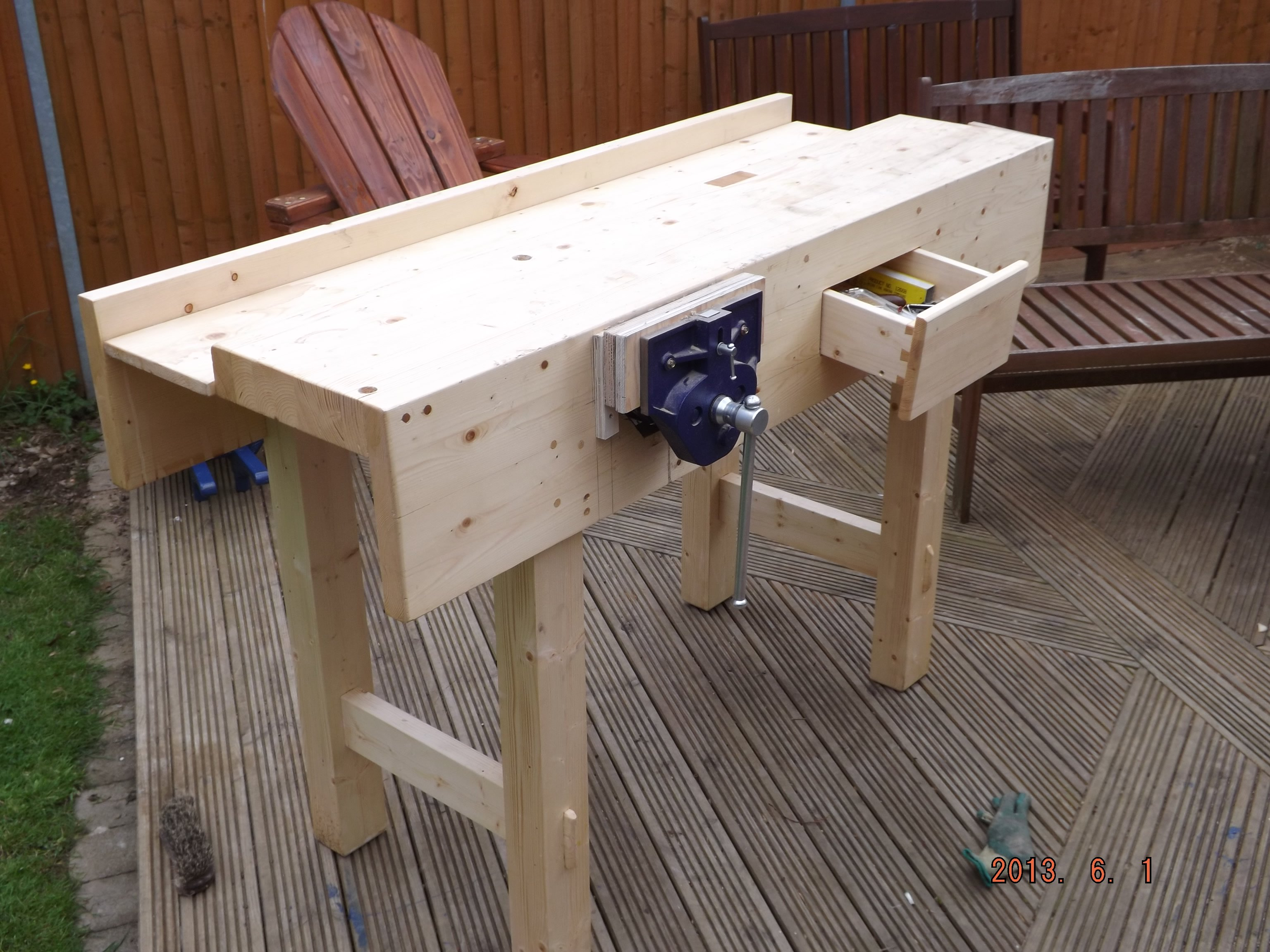 "pine[red deal] 3 coats danish oil (build from pauls books ""working ..."