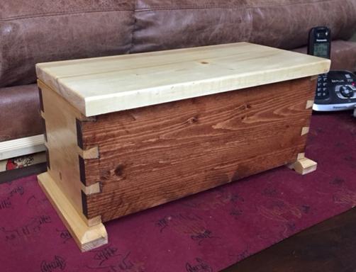 Dovetail Box by Alex D