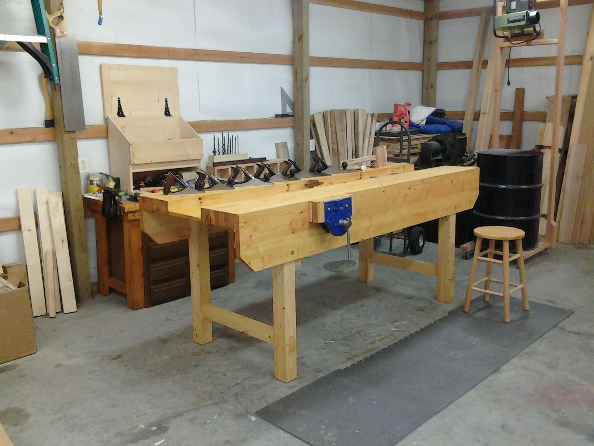 Workbench by Arthur Coates