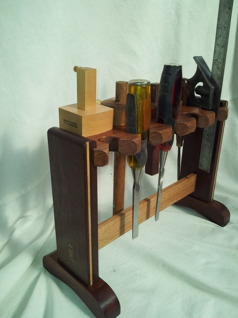 Chisel and Marking gauge holder by Pasquale Avocone ...