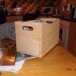 dovetail box(pine) by David O'Sullivan