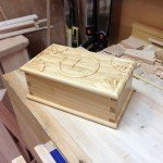 Jewellery Box with Carved Lid by Greg Merritt