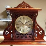 Royal Mantle Clock by Salko