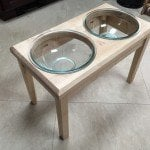 Dog Bowl Holder by lowpolyjoe