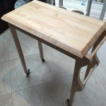Rolling Kitchen Cart by lowpolyjoe