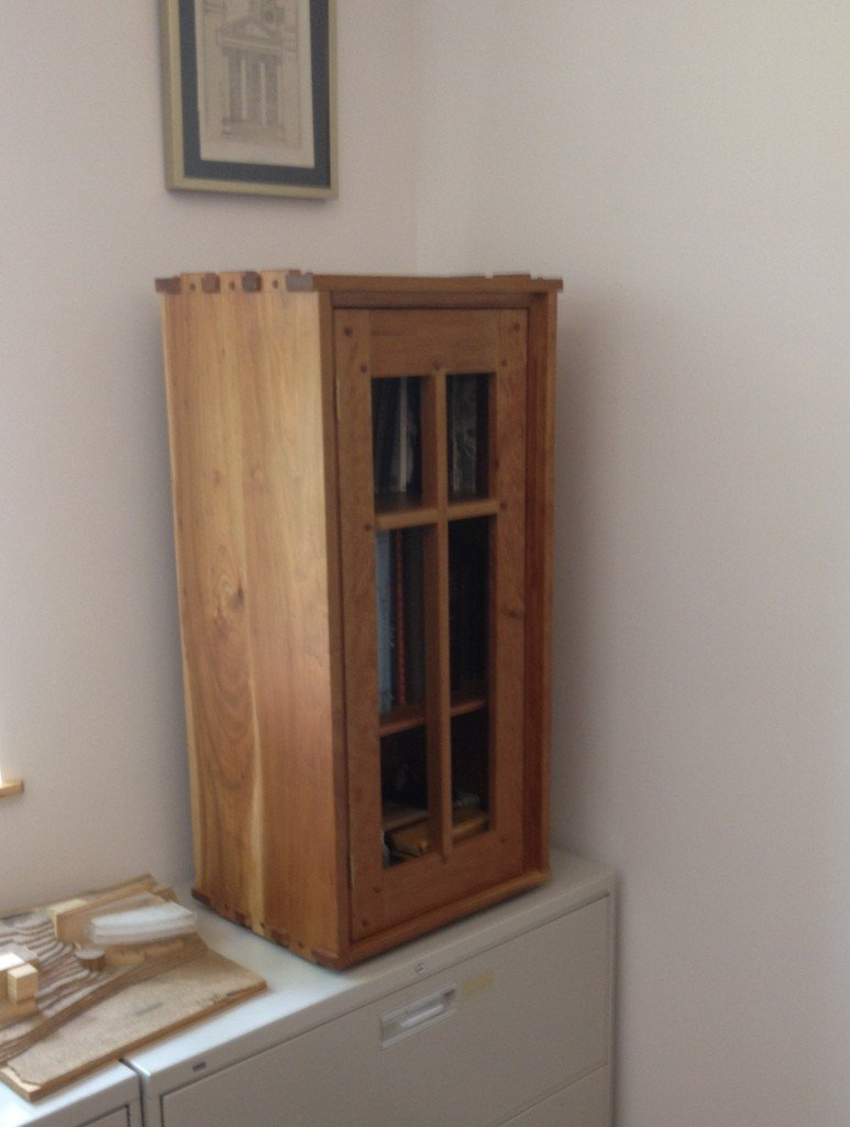 Cabinet For Books By Orestes Valella Woodworking