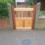 New gate by Mark Armstrong