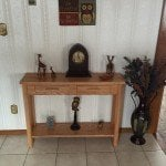 Hall or foyer table by Jimmy Chrisawn