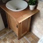 Powder Room Vanity by Orestes Valella