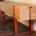 Structural Pine Bench by andii