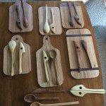 Breadboard-end Cutting Board by Christmas Presents