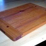 Breadboard-end Cutting Board by Andy Cleland