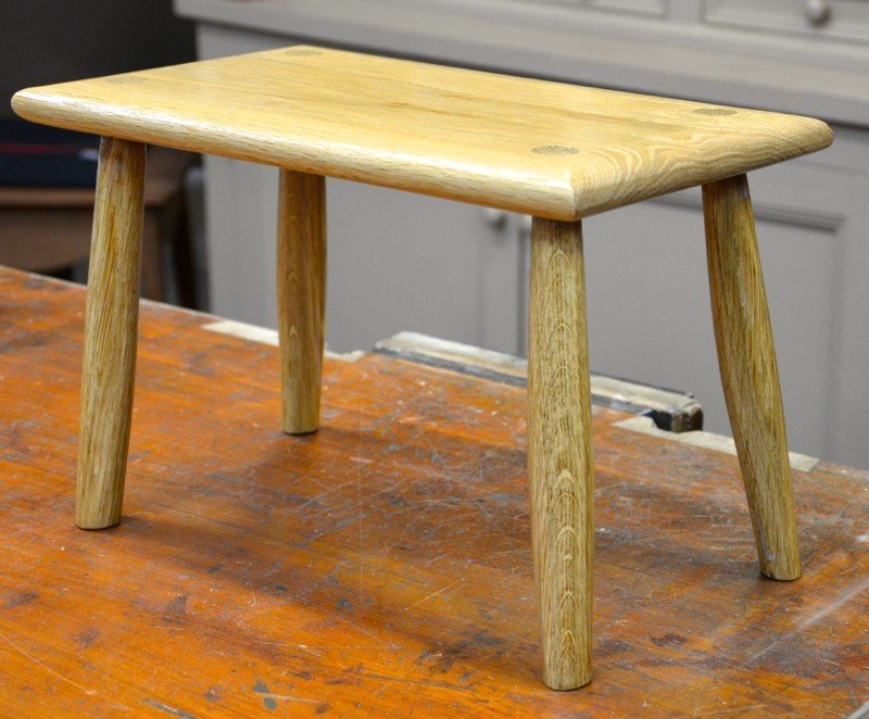 Our current series is a Foot Stool (April 2015)
