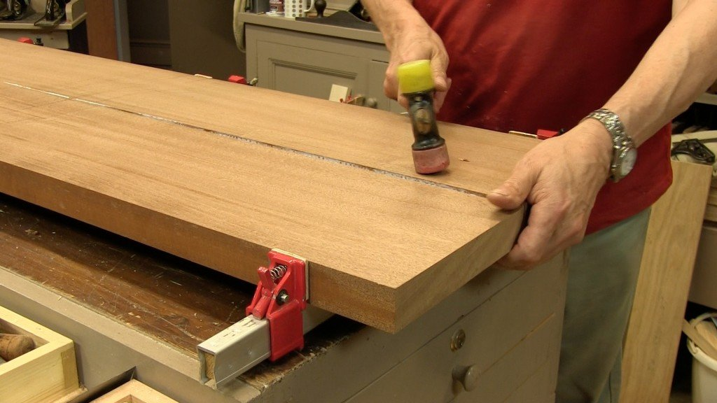 Edge Jointing WIde Boards