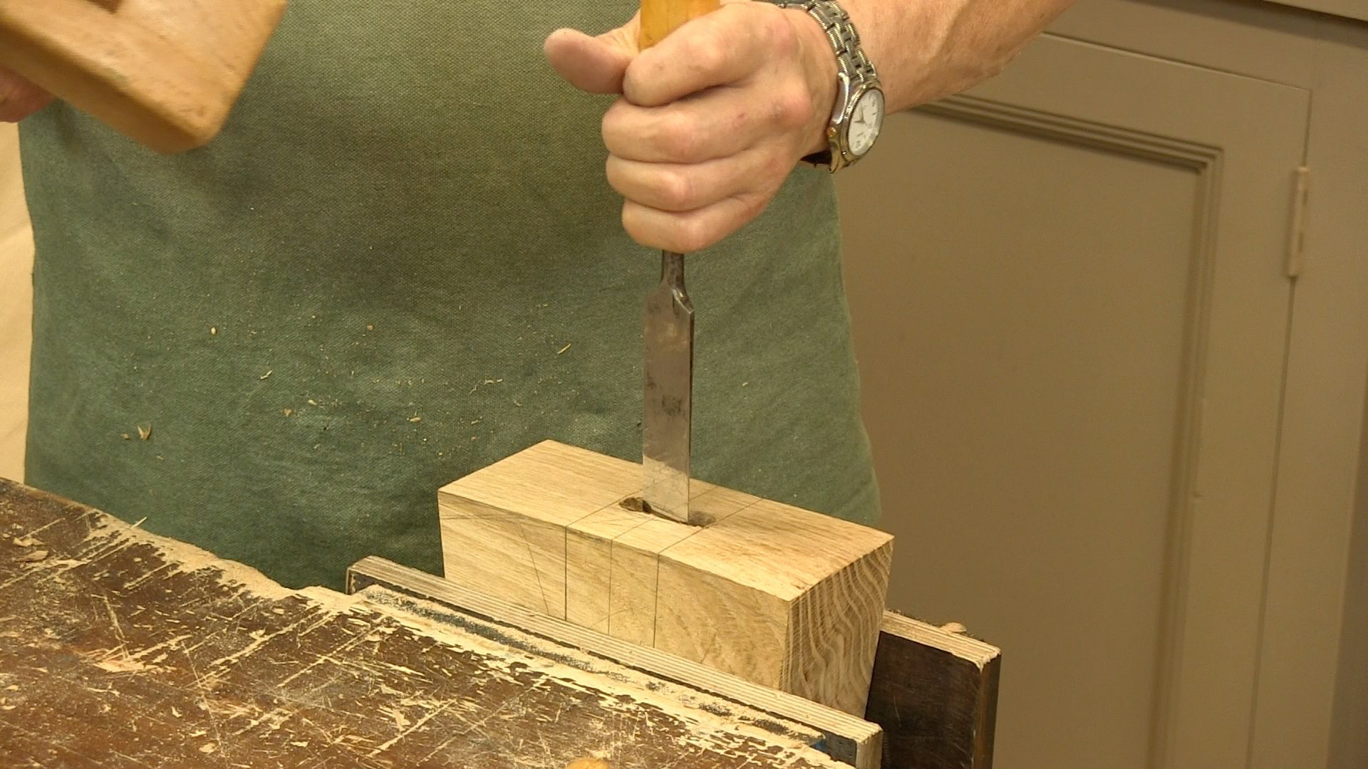 Making a Joiner's Mallet