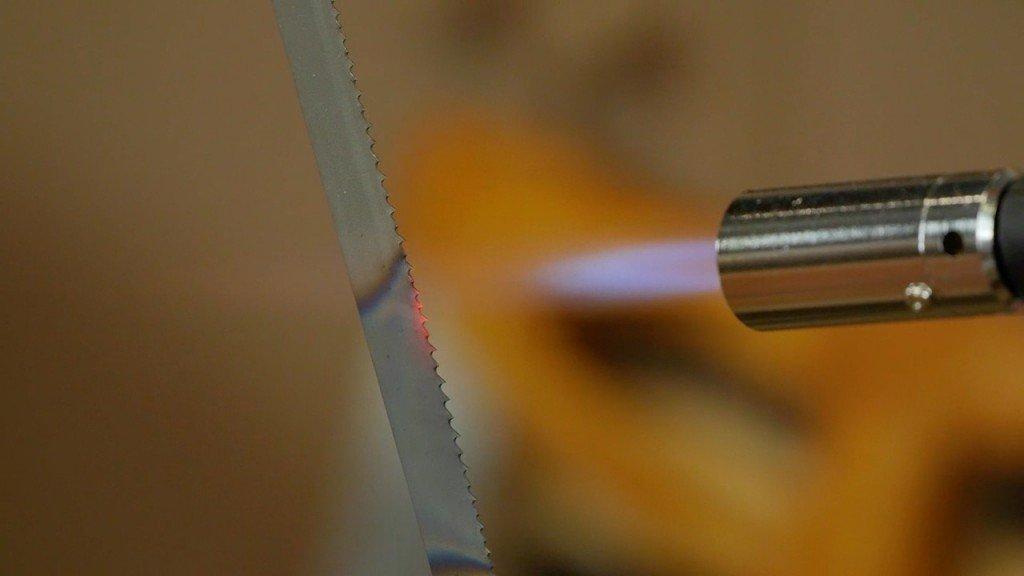 Making the Frame Saw - Sharpening