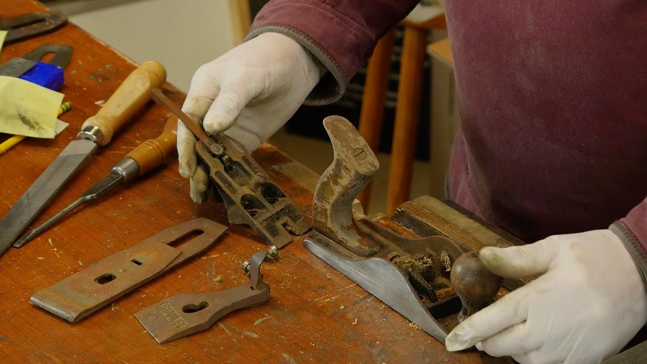 Restoring The Bench Plane Woodworking Masterclasses