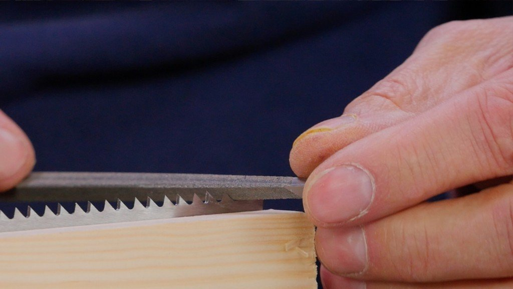 Crosscut Saw Sharpening