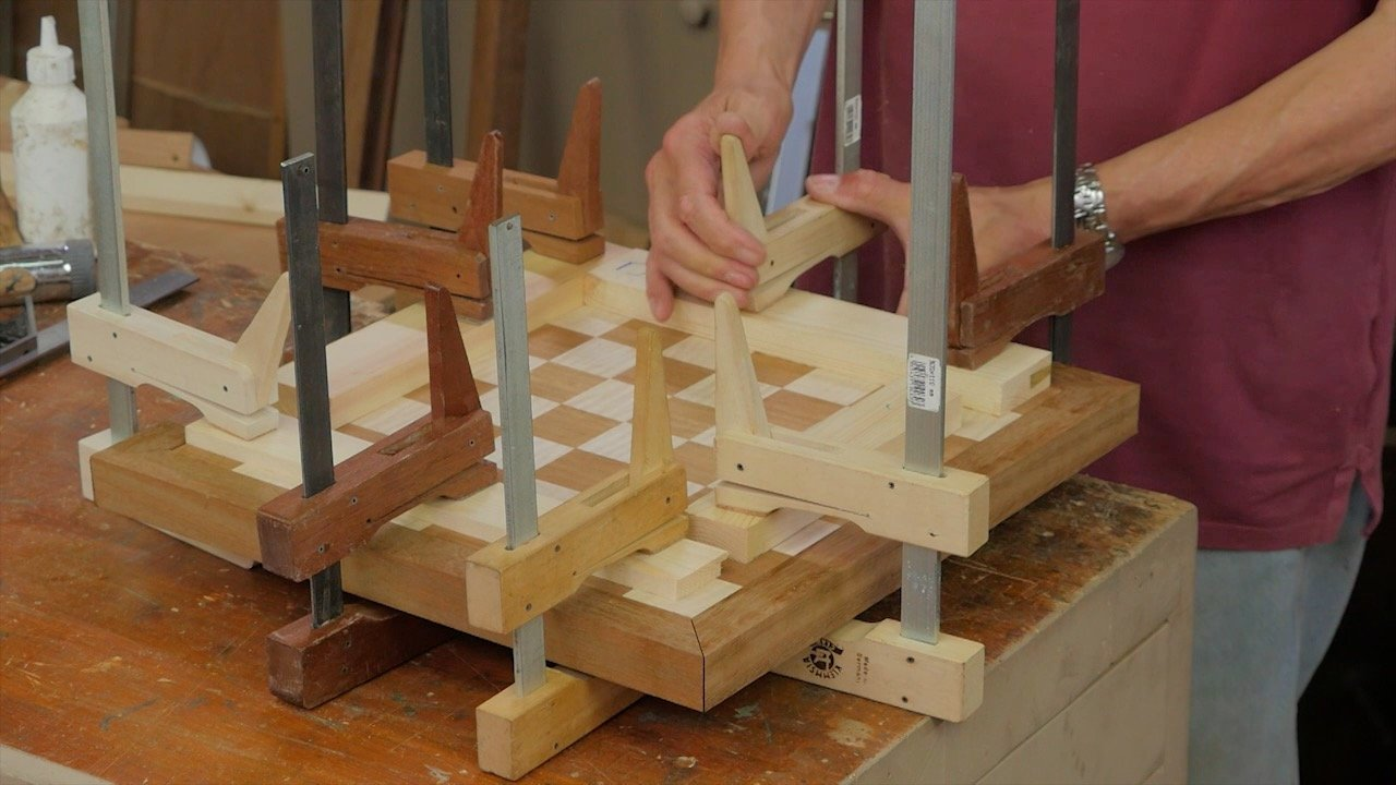 Chess Board Episode 4 Woodworking Masterclasses