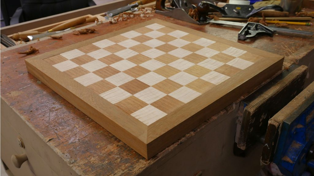 Chess Board Project Info Woodworking Masterclasses
