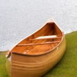 Cedar Strip Canoe by Kenneth Berregard