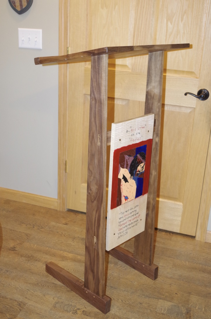 Lectern by jefrog1844's son