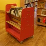 Library Book Trolley by Ian Lambert