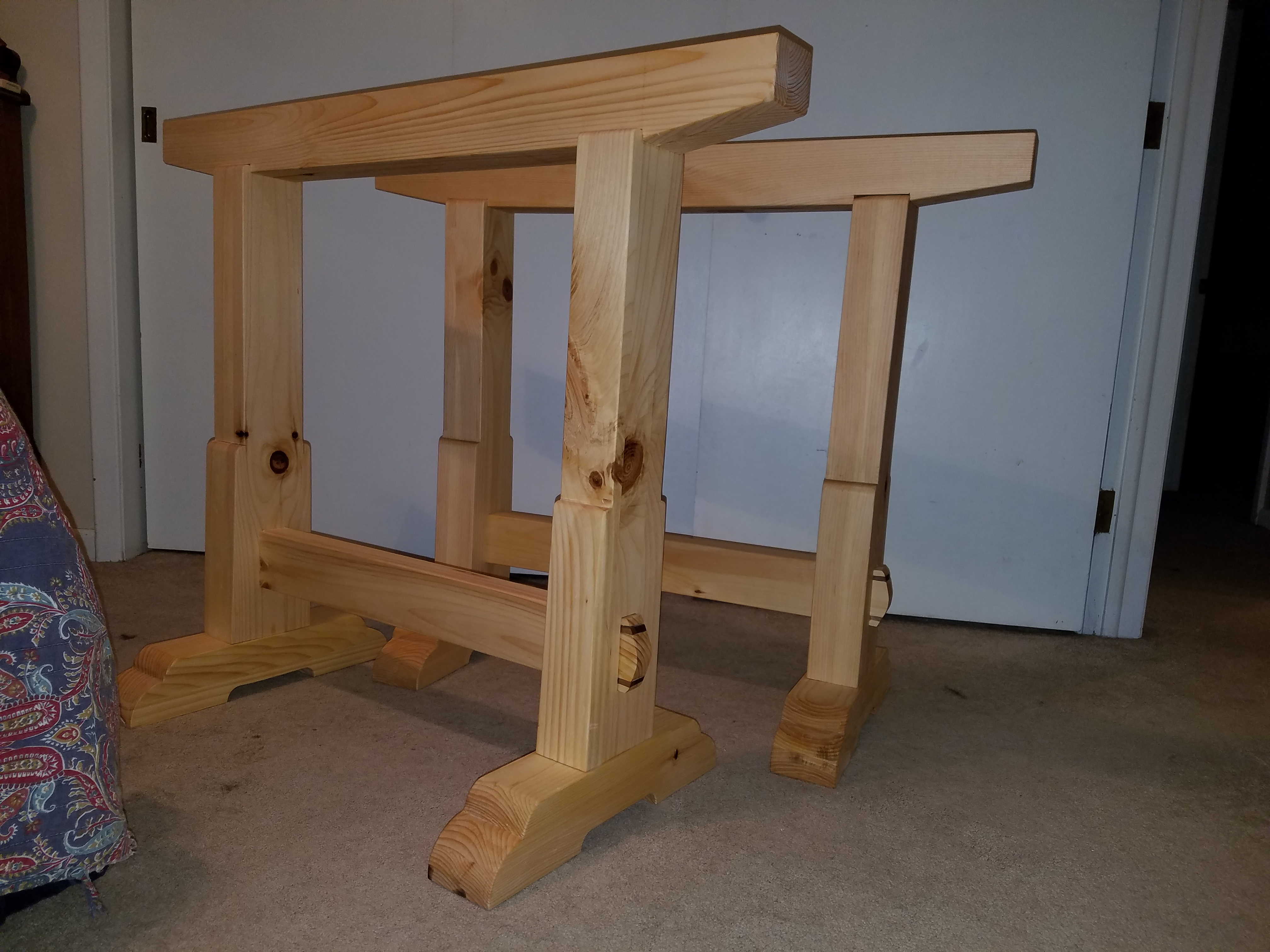 Sawhorses by Phil Guthe