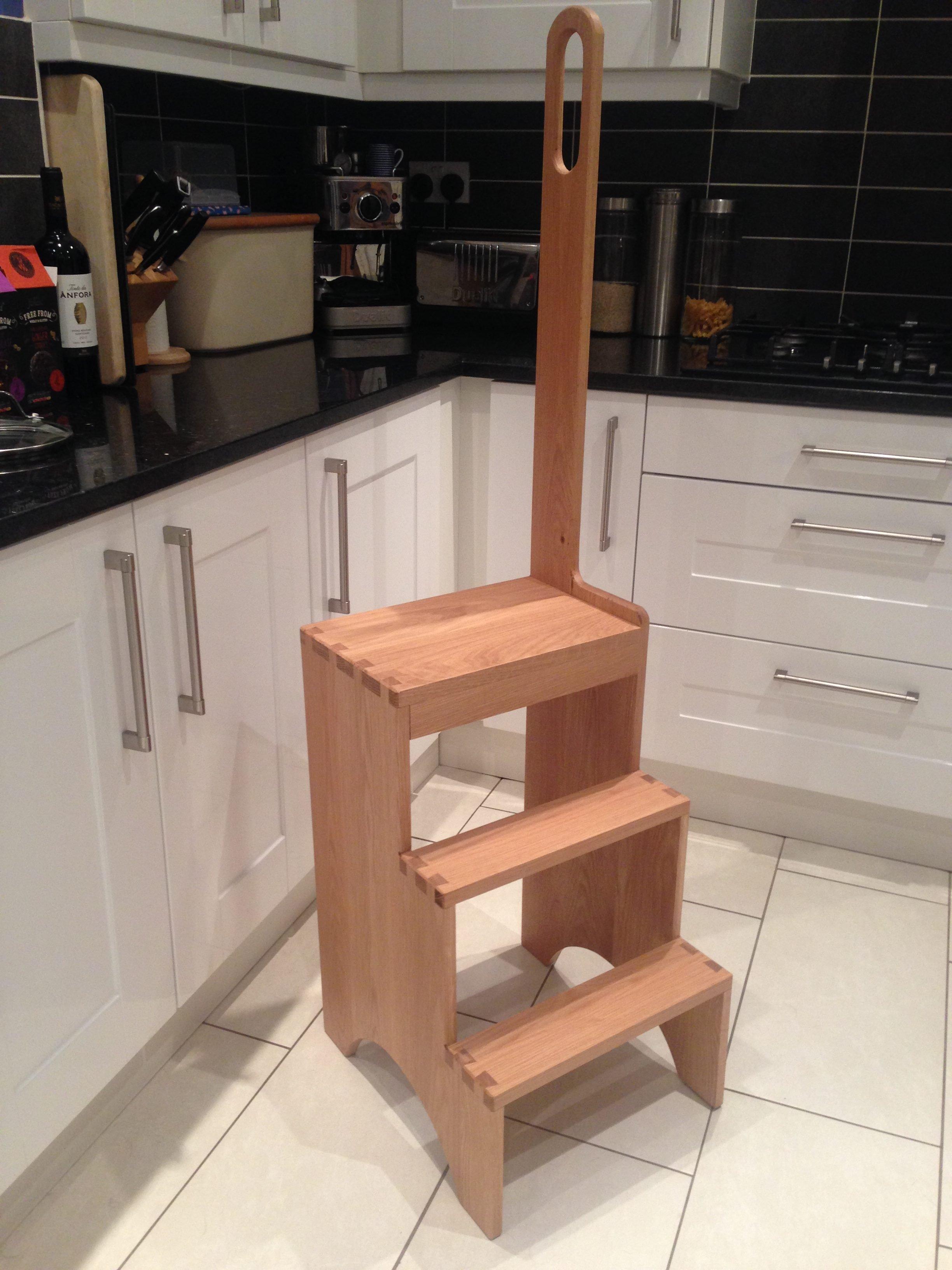 Shacker-style Kitchen Steps by nyda