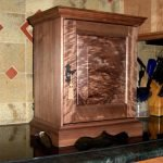 Copy of Pennsylvania Spice Chest made of American Black Walnut