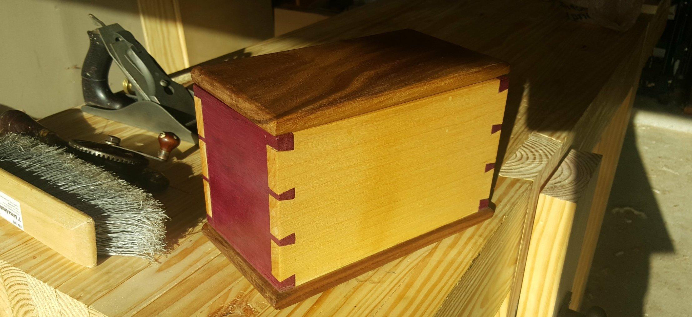 Dovetail Box by Josh Babin