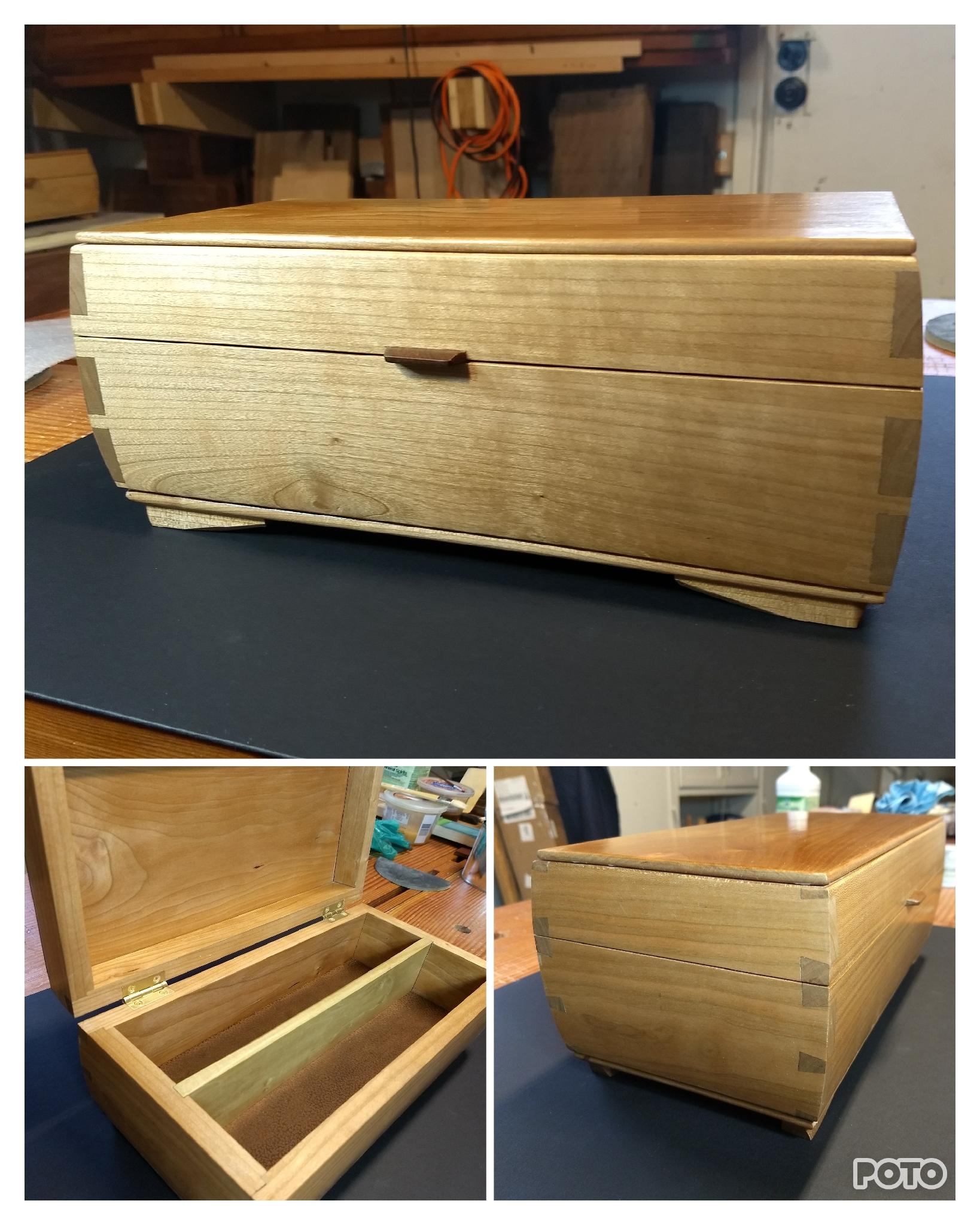 Keepsake Box (Cherry) by Peter Bernhardt