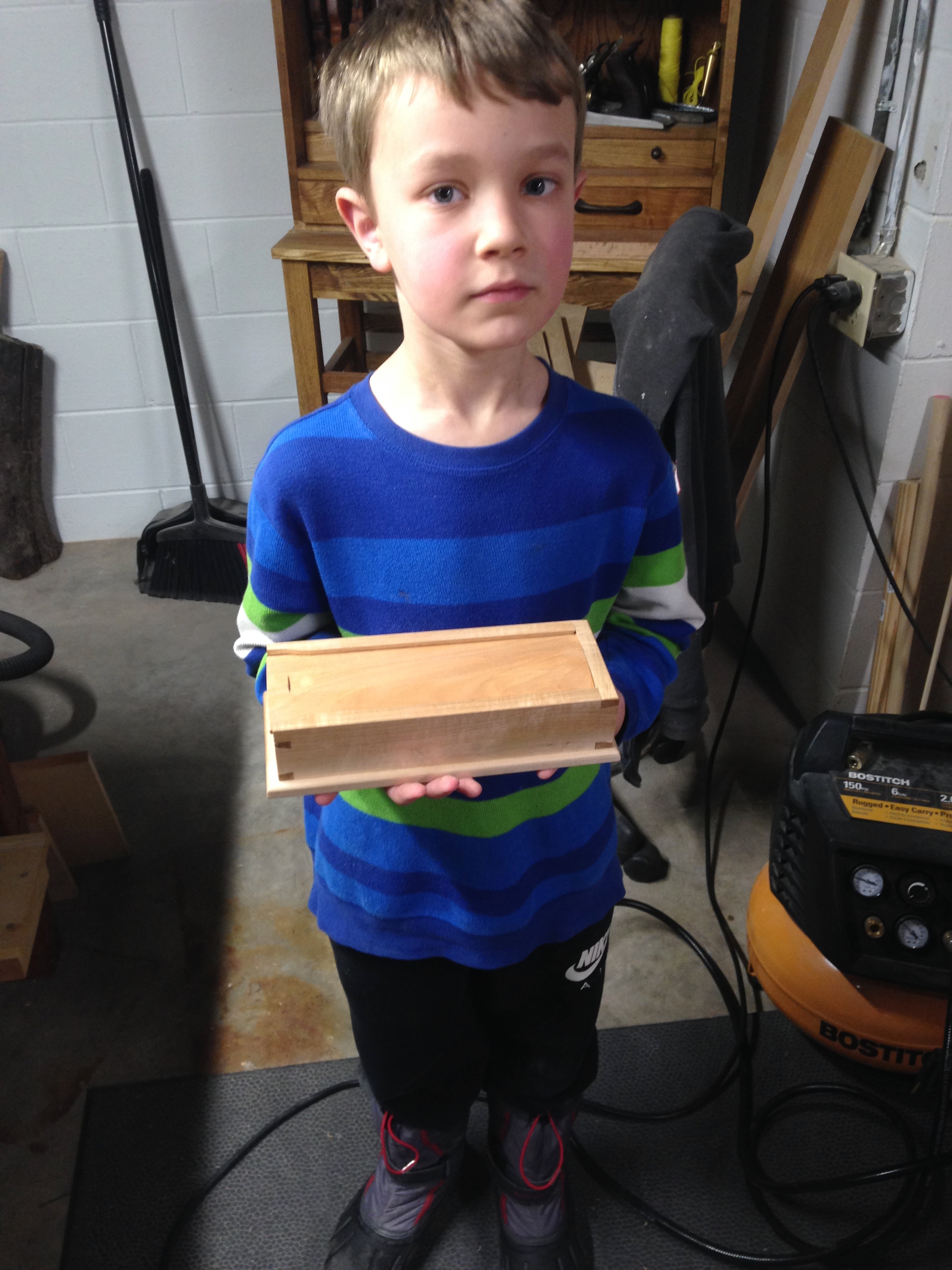 Pencil Box by Max with Andrew LeRoy