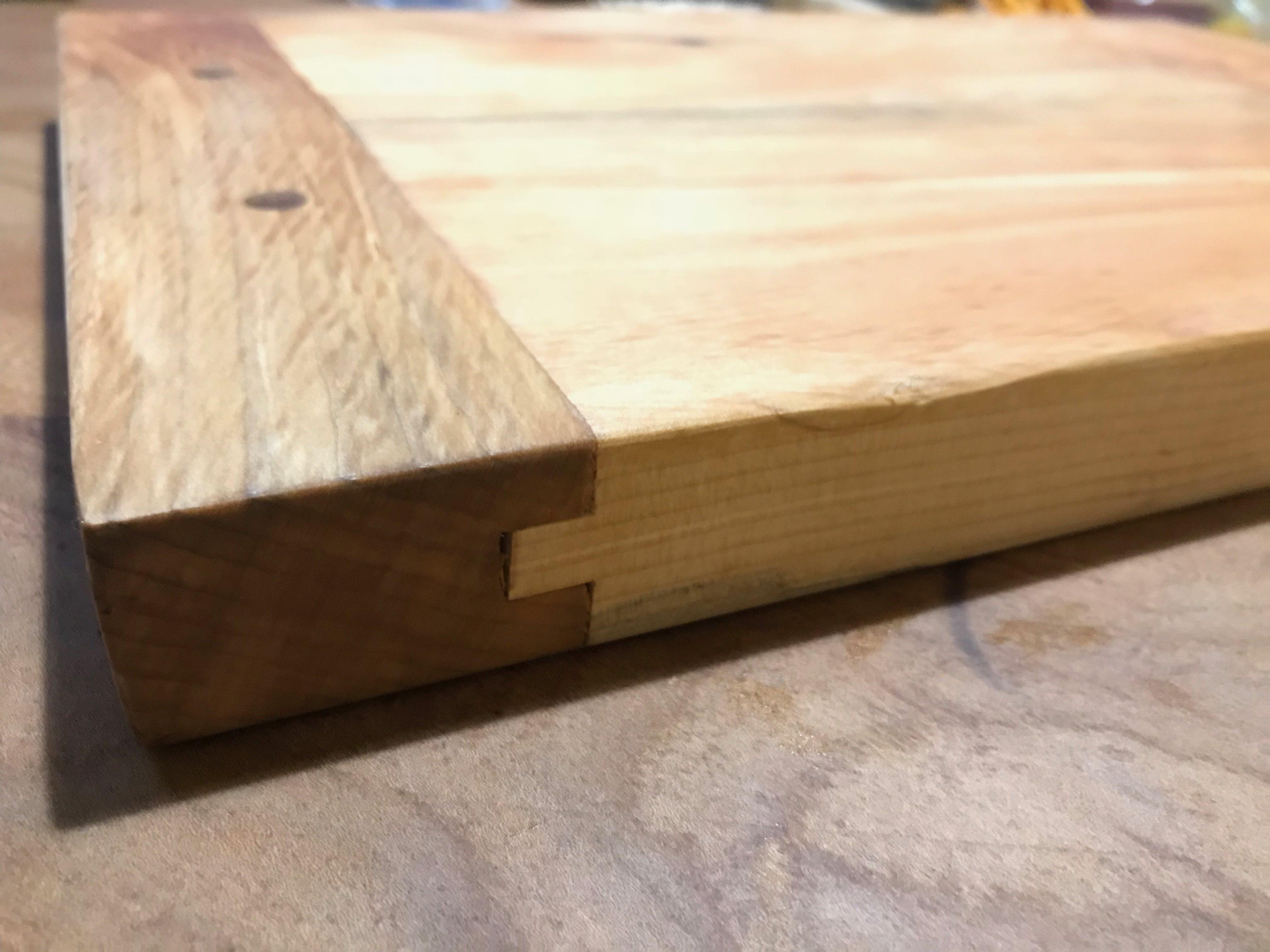 Breadboard-end Cutting Board by George Harris