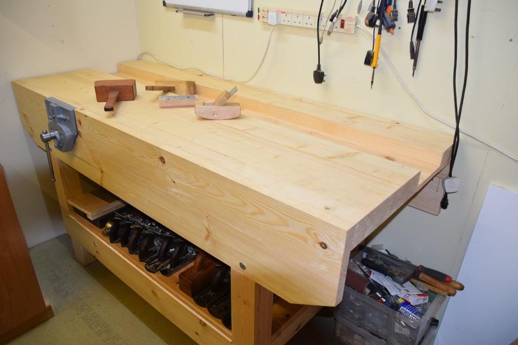 Workbench by Stephen Hillier
