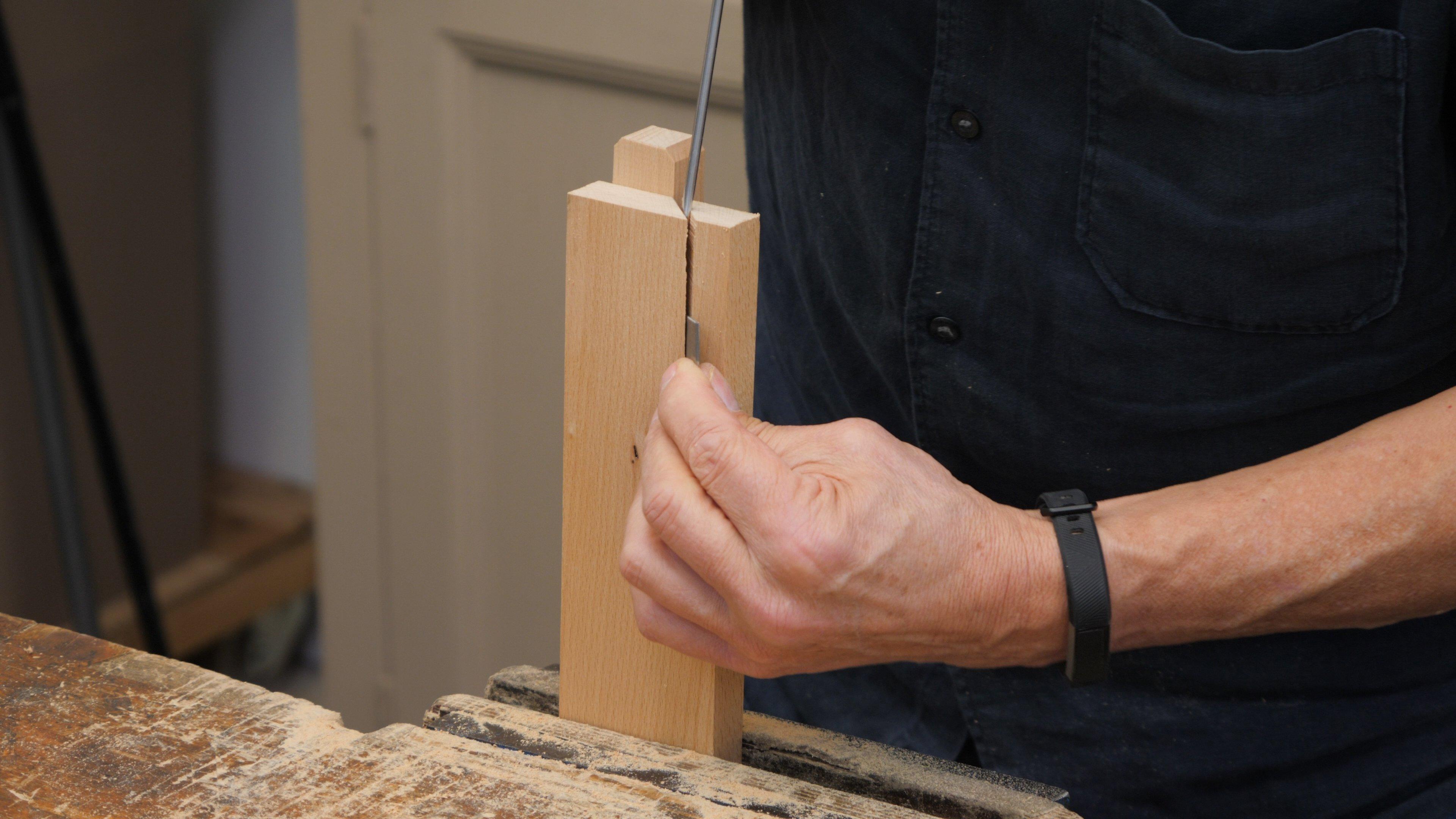 Gallery Wooden A Frame Shelf Cabinet Scraper Honing Guide