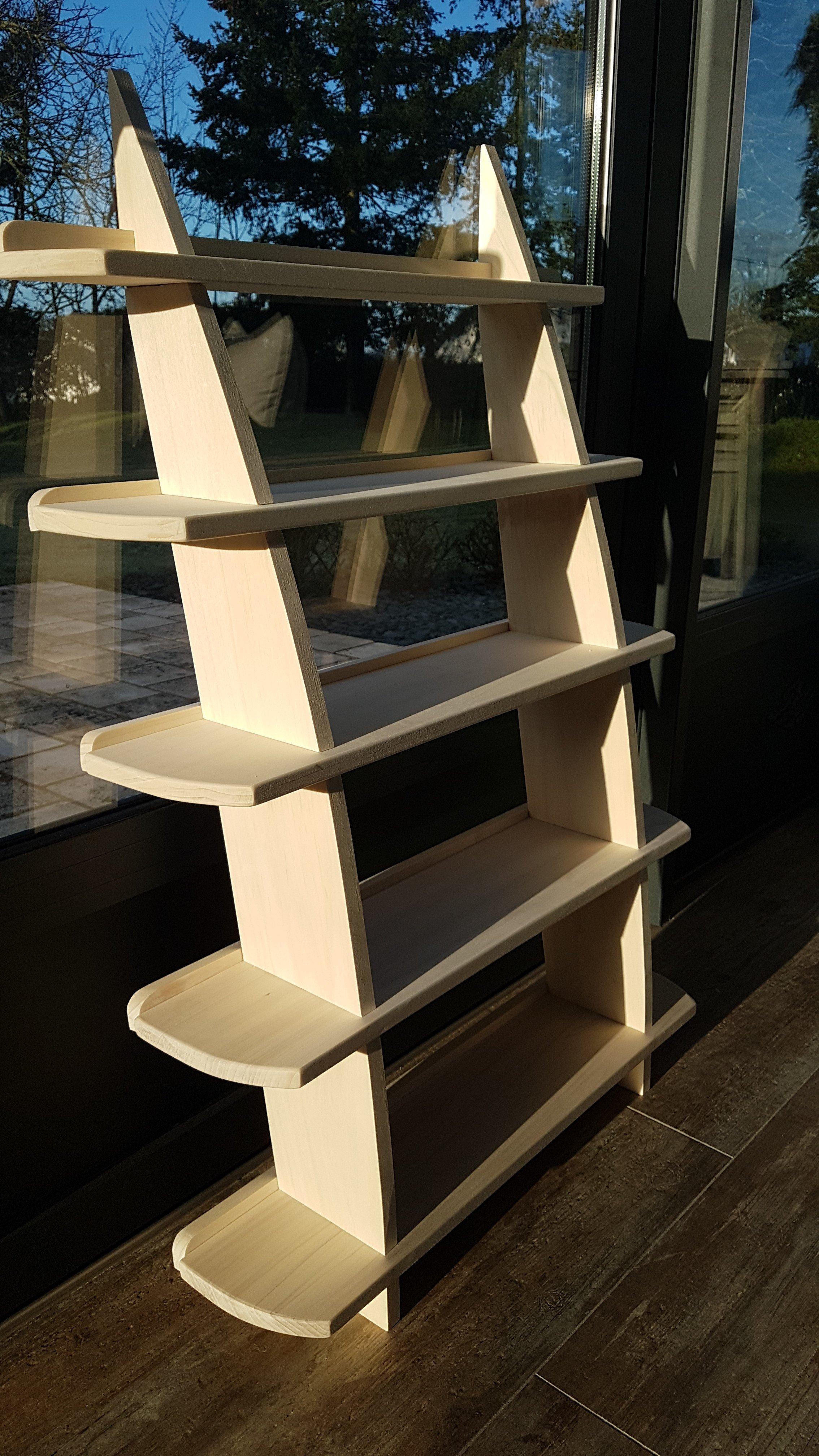 Leaning Wall Shelf by Nicholas