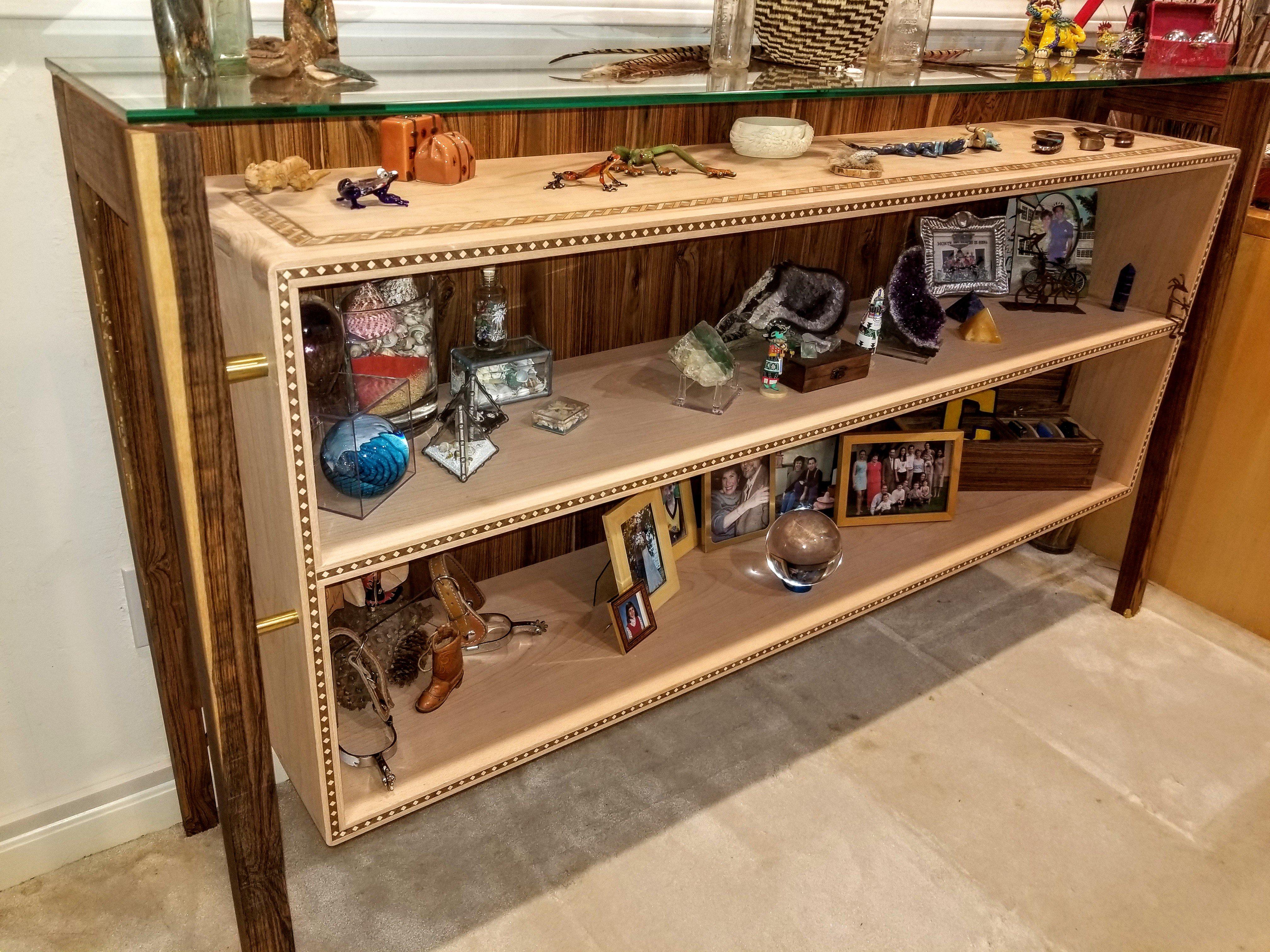 Art Deco-Inspired Shelves by Pete Heller