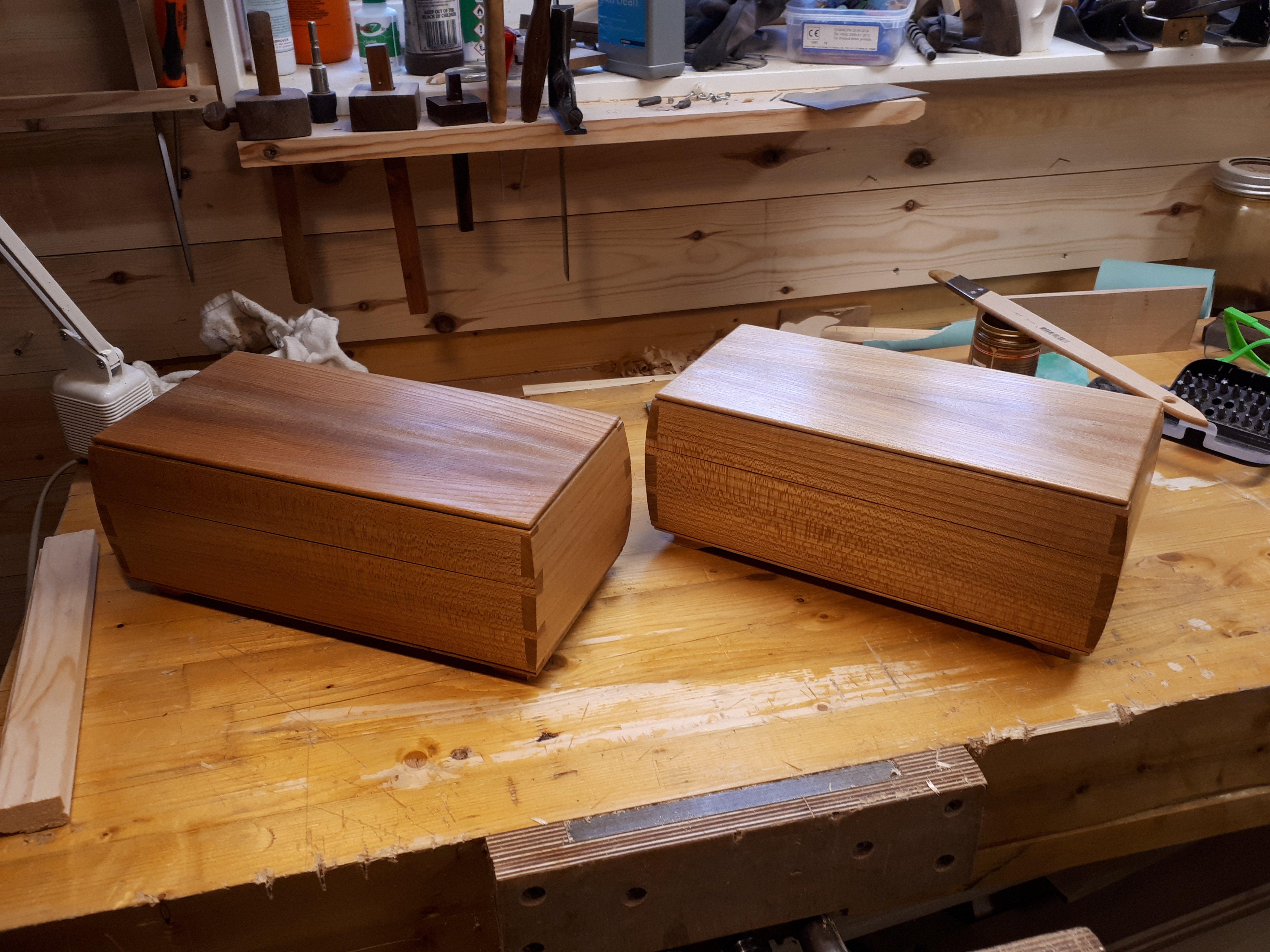 Keepsake Boxes by Jan Steinar Øyjord