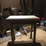 Hard Maple Table