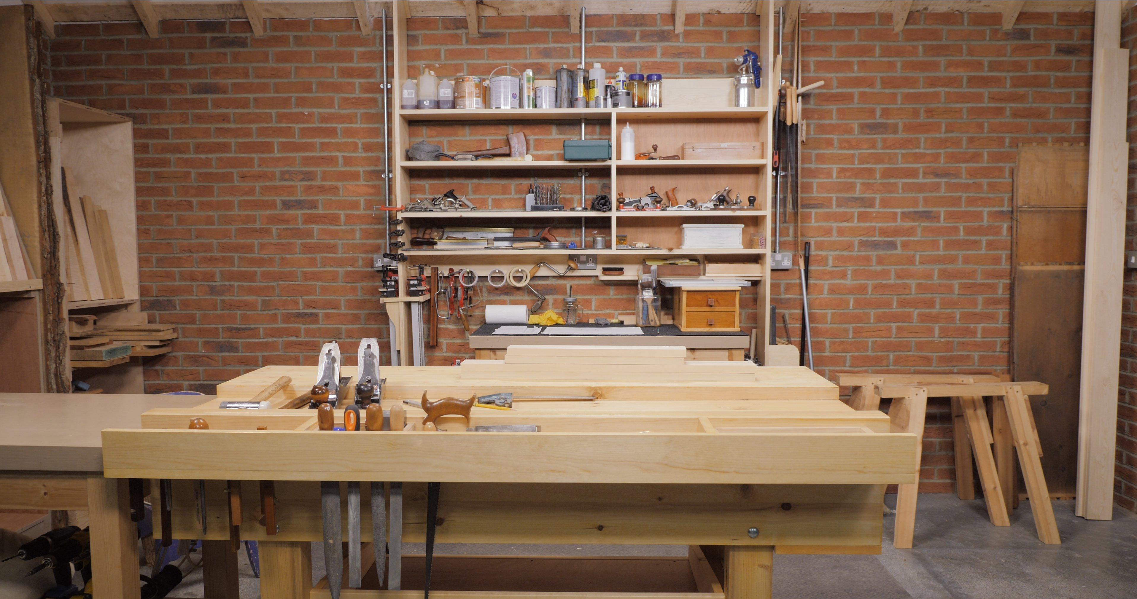 Paul's workbench