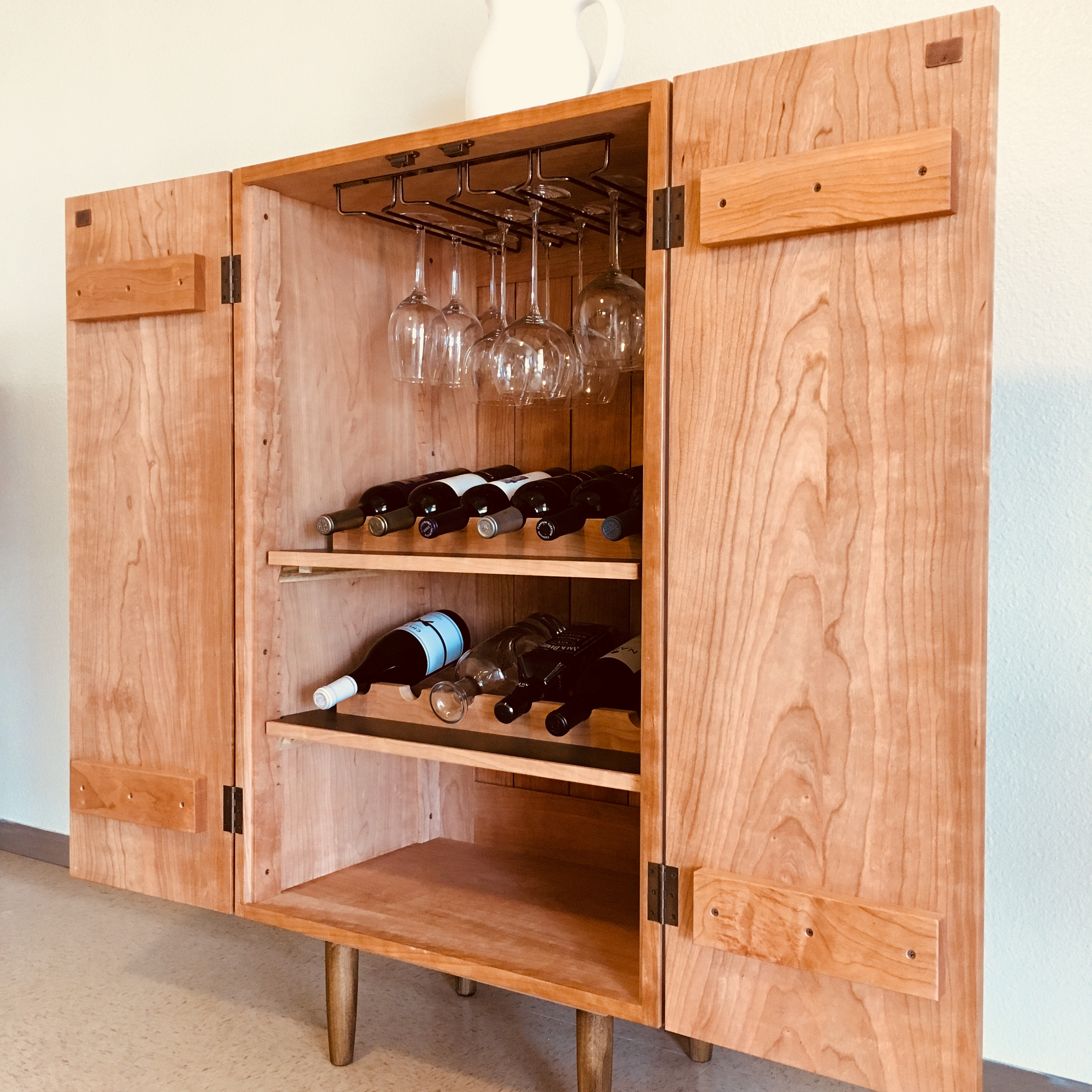 Wine Cabinet by Chris