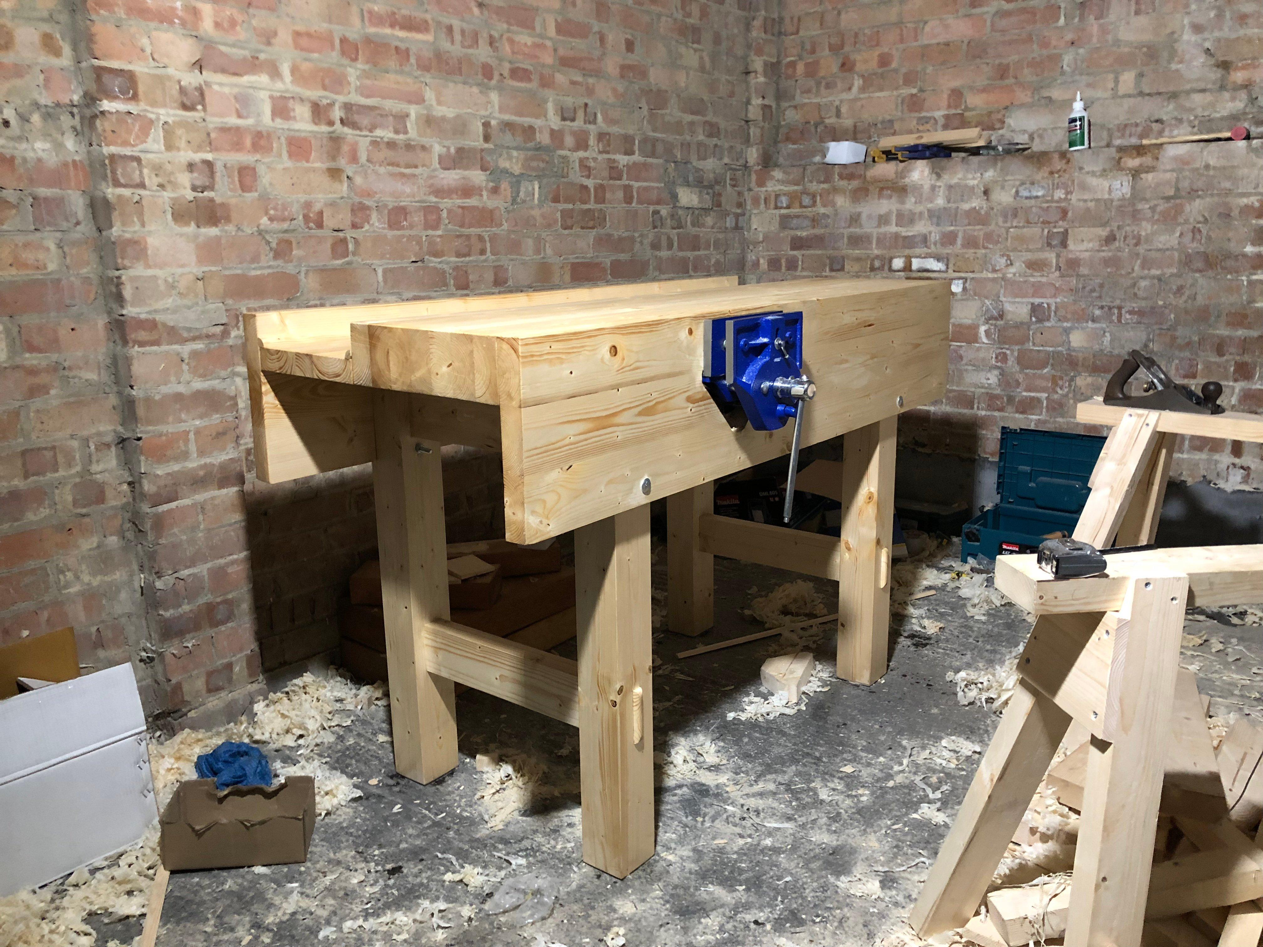 Workbench by Richard Burton