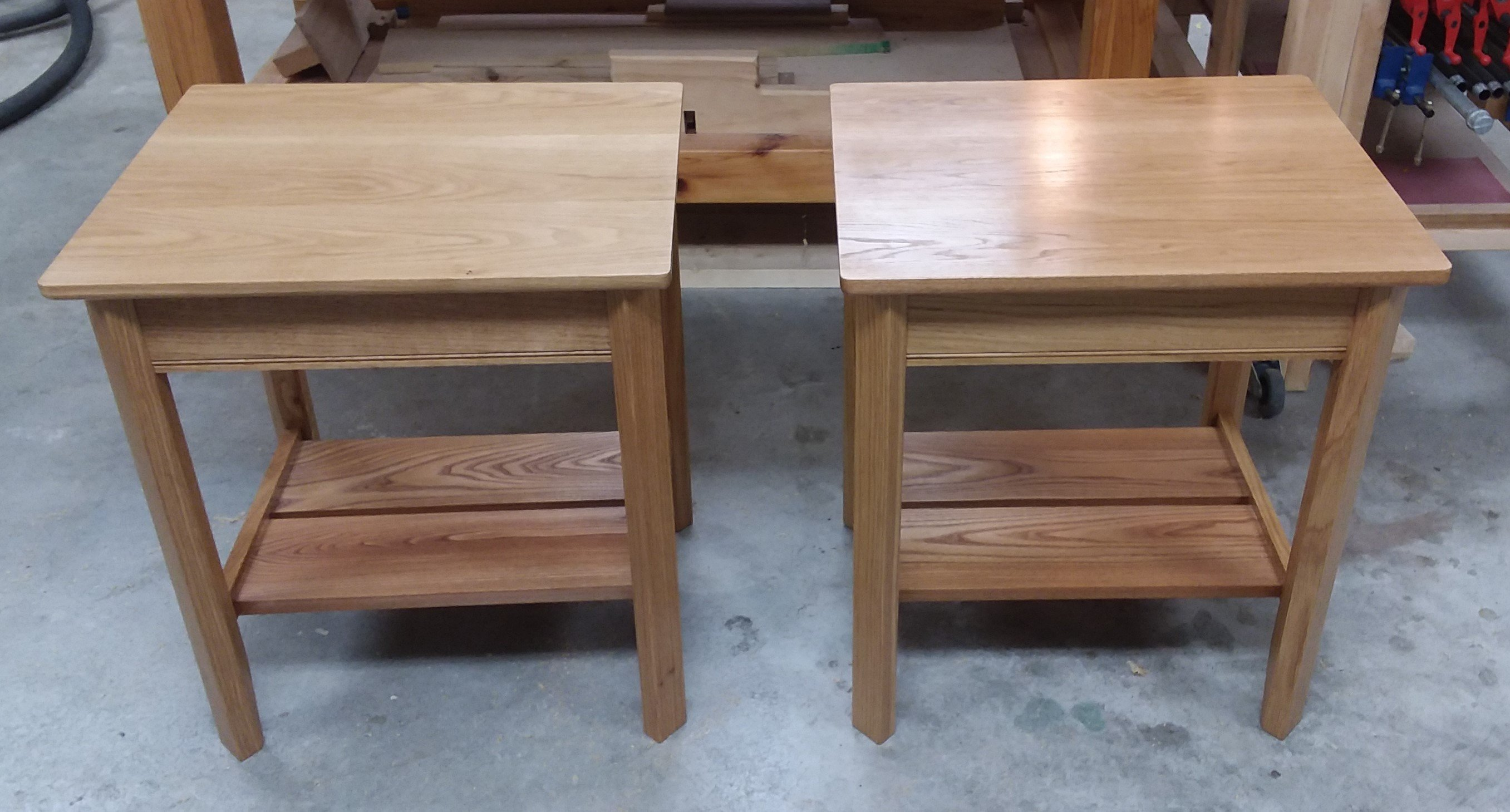 End Tables by harry wheeler