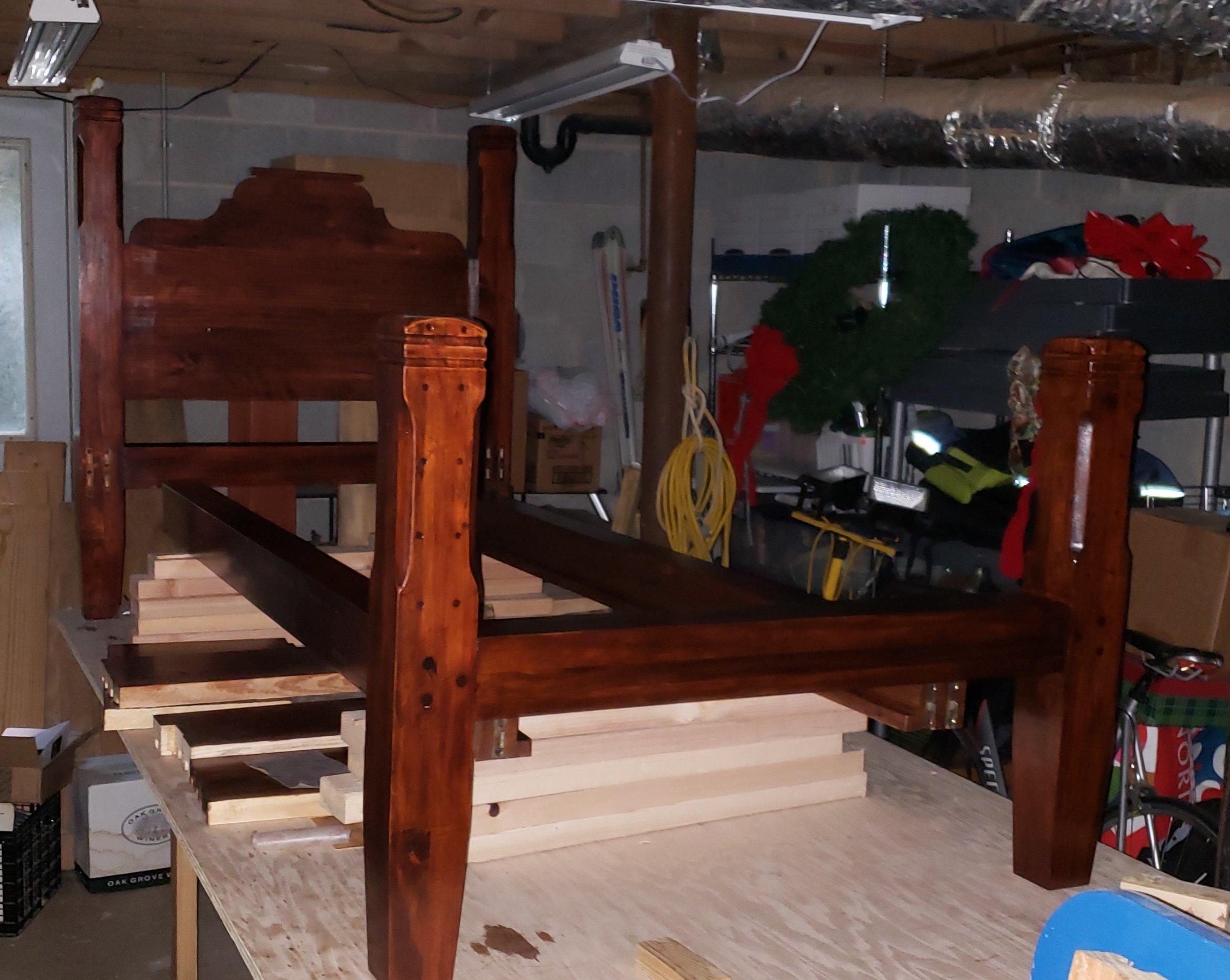 Twin Bed by Pope Jones