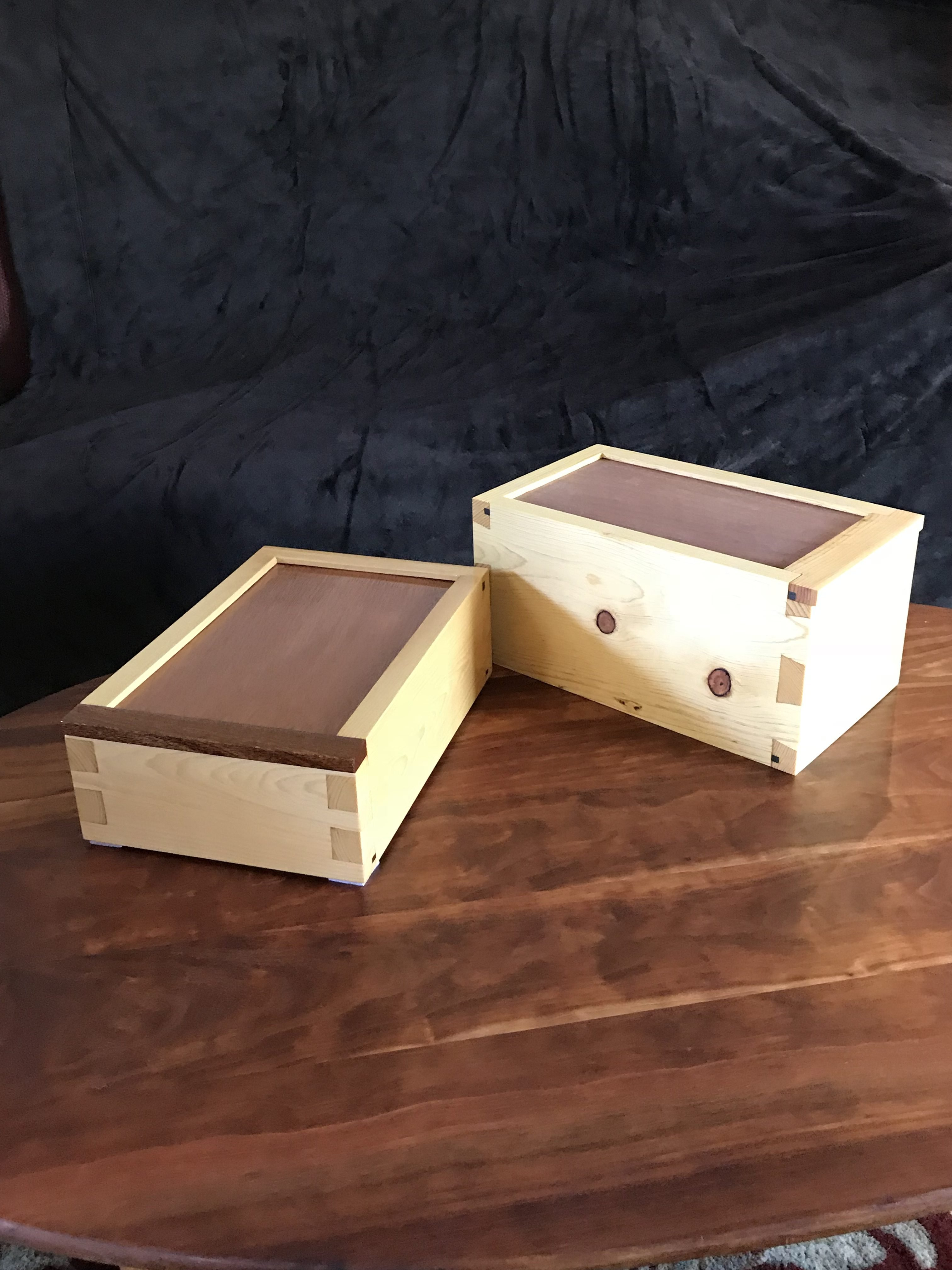 Dovetail Boxes by Kenneth McCraw