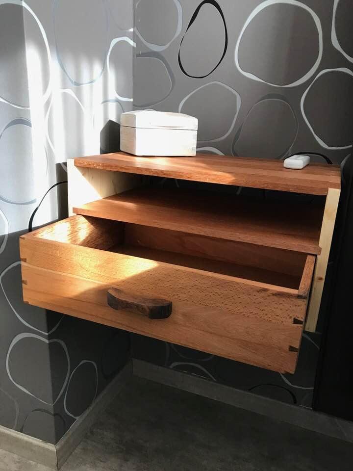 Bedside Cabinet by Stefaan Verweirder