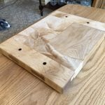 Breadboard end cutting board made from 8/4 figured maple. Thanks for the clear instructions on how to build this project. Was challenging and extremely fun to build. Thanks again for your inspirational teachings Paul.