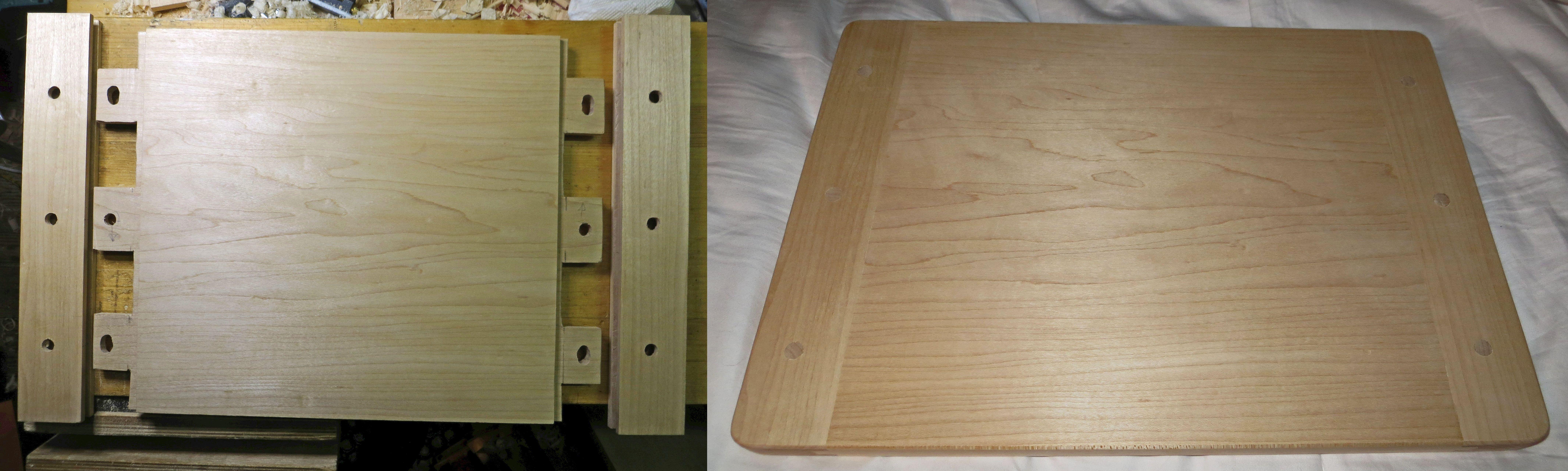 Breadboard-end Cutting Board by mercified