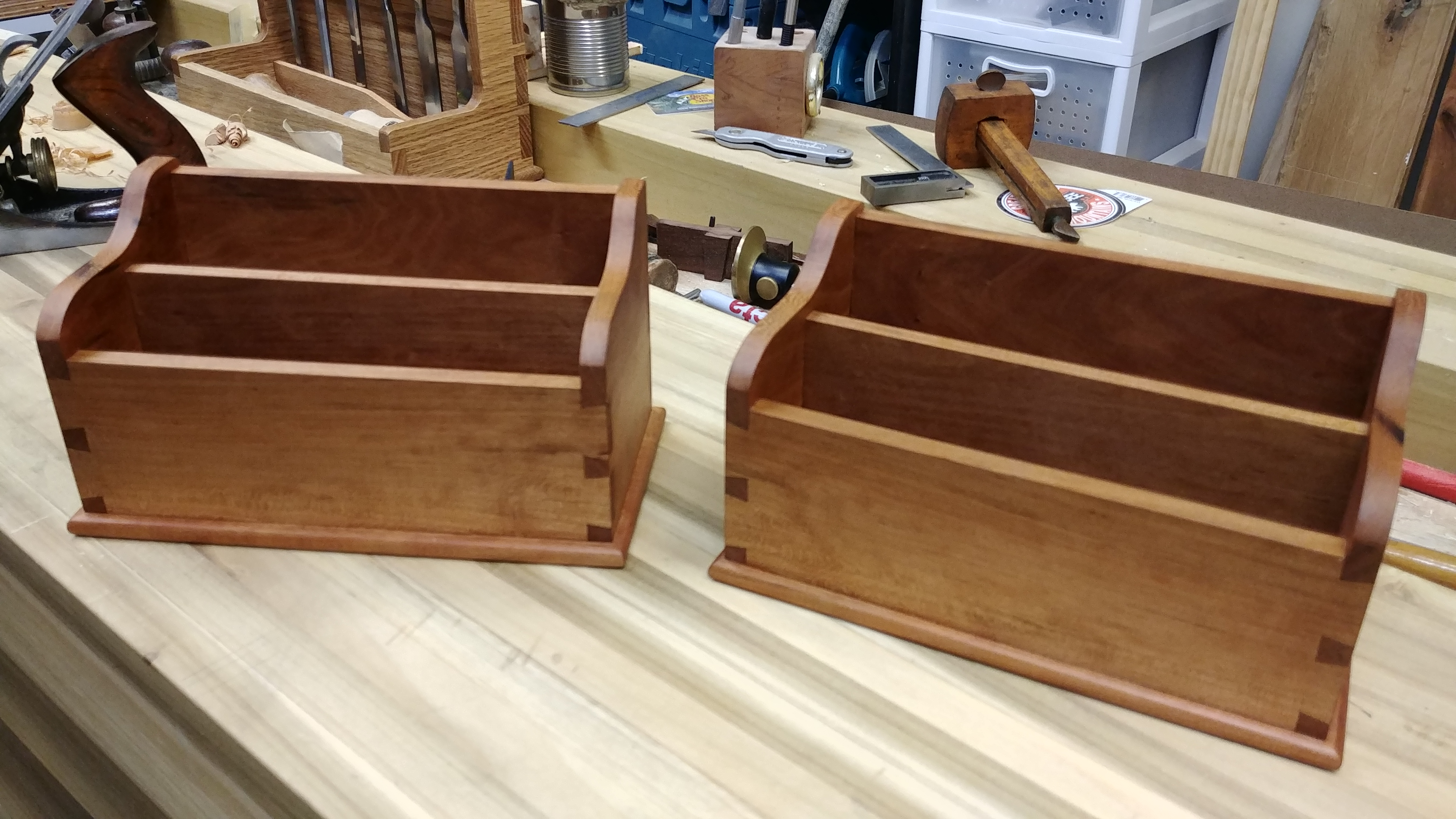 Dovetail Boxes by David Sims
